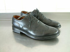 John Spencer Zapatos.. Inglaterra.. pesado Brogue.. UK 10... Goodwood.. Tweed Run.. Chap
