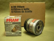 6  Fram Tough Guard Oil Filters Synthetic-Blend filter A/C PF 44 ,PF46 GM Filter