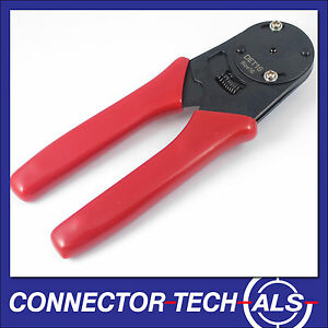 Deutsch Crimping / Crimper / Crimp Tool DT 16AWG Green Band Plugs 16G #DET16