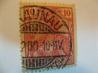 1900 (GERMAINA) REICHSPOST 10 pfg STAMP FROM THE GERMAN EMPIRE/VF/MNH/RARE.
