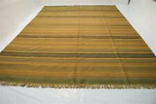 nr.21926 Moderne handgewebter Teppich Kelim Kilim Wolle auf Wolle 370 x 265 NEU