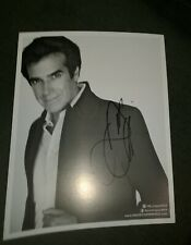 David Copperfield autographed 8x10 photo