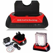 SATA HDD 2.5'' 3.5'' Hard Drive Disk Dock Clone Backup Holder Docking Station