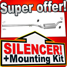 Middle Silencer  FORD FOCUS VOLVO C30 S40 MAZDA 3 1.6 1.8 TD  Exhaust Box DDB