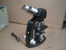Microscope Bausch Amp Lomb Lab Microscope Four Objectives And Case Up To 100x