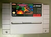 Gradius 3 III Super Nintendo SNES Space Action Pilot Game Authentic Cartridge