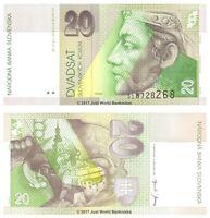 Slovakia 20 Korun 2001 P-20e Banknotes UNC