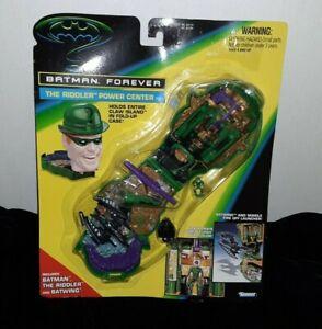 Vintage 1995 Kenner Batman Forever The Riddler Power Center Mighty Max Sealed