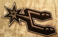 """San Antonio Spurs 4.5"""" Spur Iron On Embroidered Patch~USA Seller~FREE Ship"""