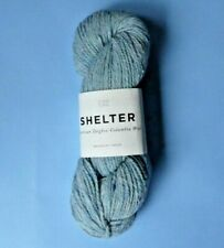 SHELTER BROOKLYN TWEED WORSTED WGT WOOL 50g SKEIN ~ ICEBERG ~ NEW WITH LABELS