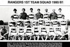 QPR FOOTBALL TEAM PHOTO>1980-81 SEASON