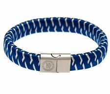 Chelsea FC Crest Bracelet-Stainless Steel Clasp