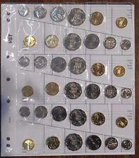 2017 6 x  6 Coin Decimal Complete Sets From RAM Rolls ( 5c 10c 20c 50c $1 $2 )
