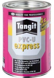 Tangit Kleber PVC-U Express, 500g für PVC -U und HT Kuststoffrohr, PVC-Rohr