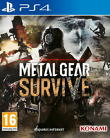 Metal Gear Survive & Survival Pack DLC PS4 NEW FACTORY SEALED