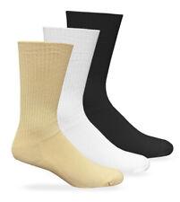 Carolina Ultimate Men Women Seamless Non-Binding Cushion Dress Crew Socks 4 Pair