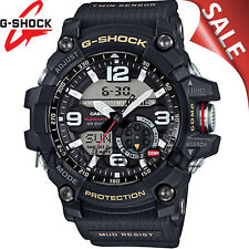 NEW Casio G-SHOCK GG1000-1A Mudmaster Twin Sensor Compass Black Men's Watch