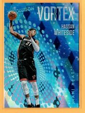 New listing 17-18 Revolution Vortex Cubic #4 Hassan Whiteside ##/50 Miami Heat