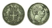 pcc1637_3) Regno Umberto I (1878-1900) Lire 2 Stemma  1883