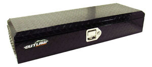 Outlaw OU2001 ATV UTV Aluminum Box Front Storage Rack Cargo Mount Trunk Luggage
