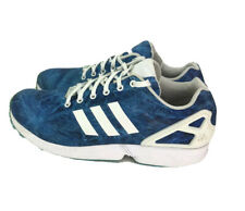Rare Adidas Size 12 Originals ZX Flux Torsion Trainers In Ice Blue
