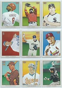 2009 Topps Baseball 206 Base Card You Pick the Card, Finish Your Set #1-100 T206