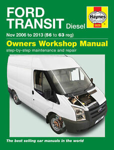 Ford Transit Diesel 2006-2013 Workshop Repair Manual with MPN HA5629