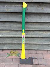 Caldwells 5LB Wood Axe Green Soft Grip Yellow Fibreglass Handle MT162