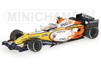 MINICHAMPS RENAULT F1 TEAM cars H KOVALAINEN F ALONSO G FISICHELLA 2006/7 1:43rd