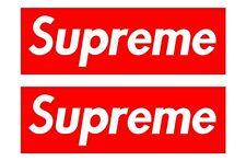 Supreme   # 10 - 8 x 10 - T Shirt Iron On Transfer - 2 pack ( 2 per sheet)