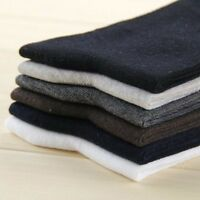 Mens Womens SOCKS Business Fashion Work Casual Pair Sock - BLACK WHITE DARK GREY