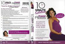 DVD:  10 MINUTE SOLUTION PRENATAL PILATES.....LIZBETH GARCIA.....NEW