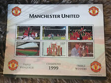 UNWANTED GIFT MUFC STAMPS TREBLE WINNERS 1999