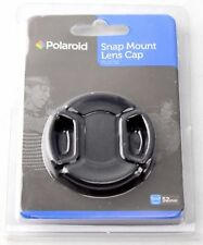 Polaroid 52mm Front Lens Snap On Cap Camera Lens Cover