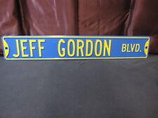 JEFF GORDON STREET SIGN - Great for Man Cave! NASCAR