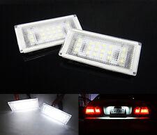 No Error for BMW License Plate LED Light 04-06 E46 3-series 325Ci 330Ci M3 Coupe