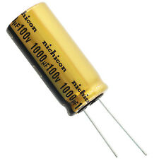 Nichicon UFW Audio Grade Electrolytic Capacitor, 1000uF @ 100V, 20% Tolerance