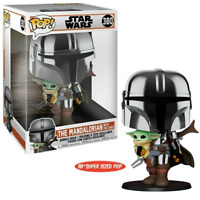 IN STOCK! Star Wars: The Mandalorian Chrome 10-Inch Pop! Vinyl Figure