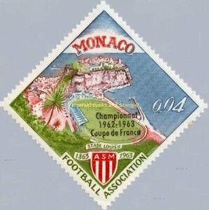 EBS MONACO 1963 - Coupe de France - Louis II Stadium - YT 623 MNH**