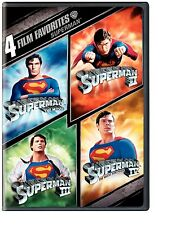 SUPERMAN 1 2 3 4 (1978-1987) CHRISTOPHER REEVE DVD REGION 4