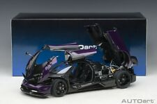 Autoart PAGANI HUAYRA BC VIOLA PSO/CARBON COMPOSITE 1/18 Scale New Release!