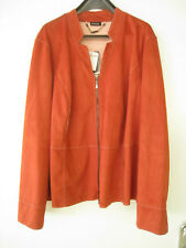 BONITA Damenjacke, Reißverschluss, Orange - Gr. 48
