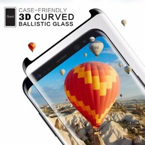 3D Curved Case-friendly Tempered Glass Samsung Galaxy Note20,10,9,S9,S8,Note8,S7