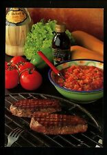 Recipe postcard WW Steak and Siciliansk Salsa