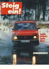 Lada Niva Prospekt 19xx / Sonderdruck   *235*