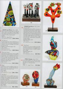 Ceramica Vetro Contemporaneo Rossini Zoritchak,Venini,Fokkelmann,Leperlier