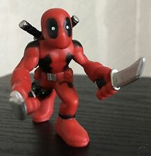 "Marvel Super Hero Squad DEADPOOL 2"" Figure with Swords"
