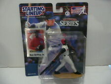 * Starting Lineup Cinn Reds Lot * 1998 - Barry Larkin * 2000 - Ken Griffey Jr *