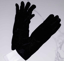 New Gymboree Girls Dressed-Up Black Gloves Sz L 8 10 year Christmas Pageant NWT