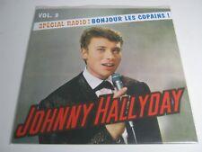 johnny hallyday: spécial radio.vol 3.vinyle 25cm.300ex (neuf)